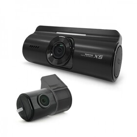 CLICK FOR MORE INFO - FULLY INSTALLED - iRoad X5 Dual 32GB - 2 Channel Dash Camera